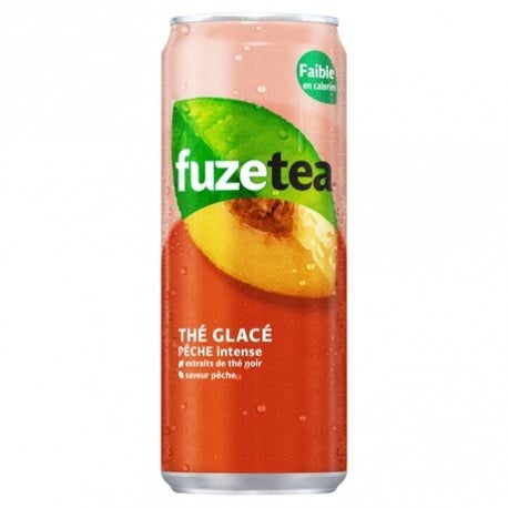 24-canettes-de-the-glace-peche-intense-fuze-tea-24-x-33-cl