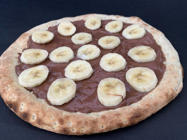 Pizza banane nutella 3