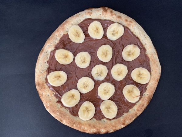 Pizza banane nutella 4